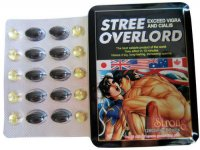 STREE OVERLORD MALE ENHANCER 100% NATURAL 12800MG 10 TABLETS